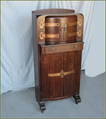 cabinet trendy antique liquor with lock bright locking endearing