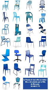 chaise bleue quelle est la chaise bleue de le ficanas