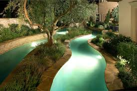 residential lazy rivers powered by riverflow pumps
