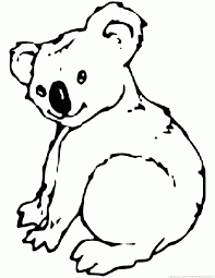 koala bear coloring page new koala coloring page best and awesome color 6747 unknown