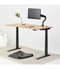 jarvis bamboo adjustable standing desk jarvis standing desks the best stand up desks fully