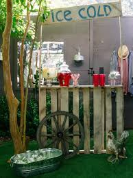 Pallet Wedding Decor 8 Upcycled Shipping Pallet Ideas For Your Outdoor Space Hgtv U0027s