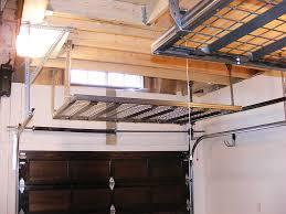 garage garage height for car lift storage overhead auto plans