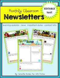 free thanksgiving newsletter templates fun with firsties best of back to