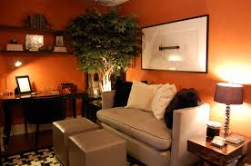 orange spice color awesome orange living rooms decorating ideas with beige sofa set