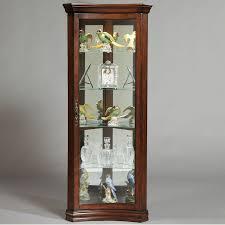 shop pulaski gallery curio cabinet at lowes com