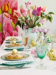 Easter Decorations Table Setting by Best 25 Easter Centerpiece Ideas On Pinterest Spring