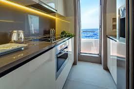 azimut yachts interior kitchen seatech marine products daily