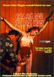 Blood Red Color Code Extreme Horror Thru The Ages 1960 U0027s Horror Extreme
