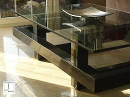 Display Case Coffee Table by Contemporary Coffee Table Metal Iron Lacquered Metal Elos
