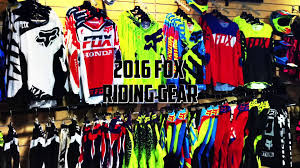 motocross fox helmets 2016 fox gear youtube