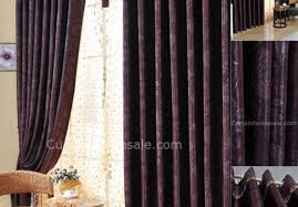 Purple Thermal Blackout Curtains by Curtains White Blackout Curtains Door Curtains White Curtains