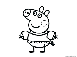 peppa pig coloring pages a4 peppa pig color pages coloring page of a pig pig color pages pig