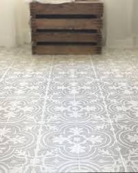 faux cement tile painted floors painted tiles tile flooring and