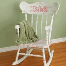 White Childs Rocking Chair Child U0027s Rocking Chair Kids Rocker Kids Sized By Thepurplegoat