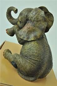 out of africa by leonardo baby elephant missing you figurine