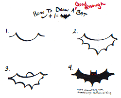 jeannelking com how to draw a good enough bat three ways