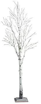 artificial birch trees with lights leafless artificial trees decoration at decowoerner