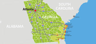 Atlanta Ga Airport Map by Visit Coastal Georgia Maps U0026 Transportation
