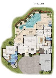 Luxury Mansion House Plan First Floor Floor Plans 300 Best Floor Plans Images On Pinterest Architecture House