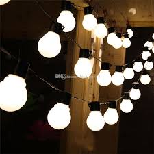 cheap novelty outdoor lighting 5cm big size led string ls