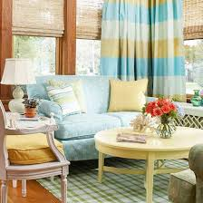 Curtains For Yellow Living Room Decor 20 Blue Living Room Design Ideas