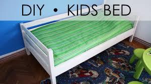 Simple Diy Bed Frame Diy Kids Bed Easy U0026 Simple Youtube