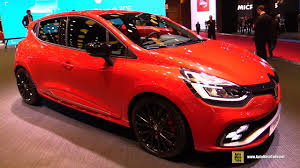 renault clio sport interior 2017 renault clio rs exterior and interior walkaround 2016