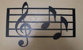 Music Note Decor Awesome Music Notes Vinyl Wall Decal Art Home Decor Piece Canvas