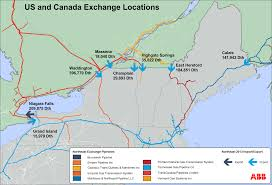 Niagara Falls Canada Map by Twitter