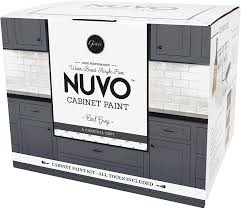 how to paint kitchen cabinets nuvo nuvo cabinet makeover kit earl grey