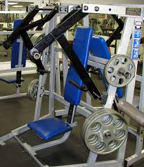 Seated Bench Press Our Equipment Olympic Fitness Club