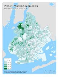 Census Tract Maps The Geography Of Brooklyn Employment Growth Saying The Unsaid In