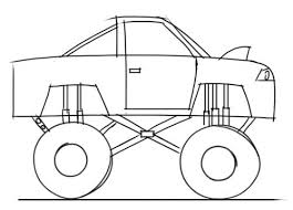 learn draw monster truck kids step step junior