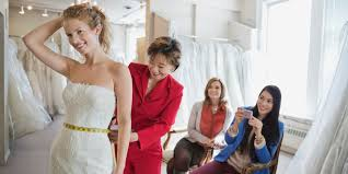wedding dress shopping when it comes to wedding dress shopping the guest list is up to