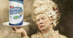 Paper Throwing Meme - donald trump s paper towels is the internet s newest meme