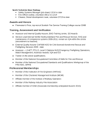 Noc Resume Examples by Simple Firefighter Resume Example Template Page 2
