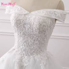 aliexpress com buy vintage princess wedding gowns lace bateau