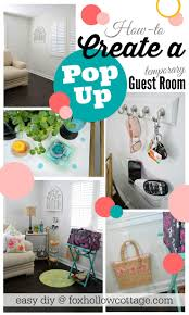 diy pop up guest room room room ideas and bedrooms