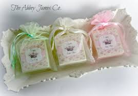 soap party favors shabby chic shower favors tea party favors baby shower