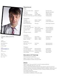 Examples Of Acting Resumes by Sample Actor Resume Format Best 25 Acting Resume Template Ideas
