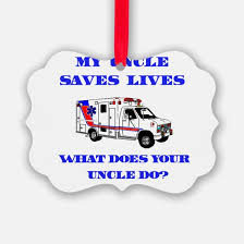 ambulance ornament cafepress