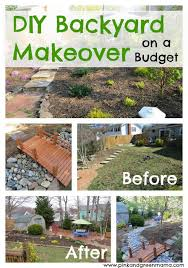 Diy Backyard Makeover Contest by Diy Backyard Makeover On A Budget Backyard And Yard Design For