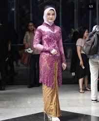 model baju kebaya muslim model baju kebaya muslim modern untuk remaja kebaya masa kini