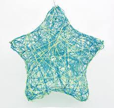 creativity for kids string art star light led string art lantern