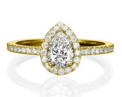 pear shaped gold engagement rings pear engagement ring 14k white gold ring 0 5 1 ct