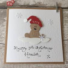 baby u0027s first christmas card first christmas as married couple