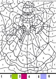 coloriage princesse coloriage magique princesse une princesse et