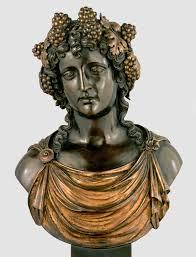 antico bacchus c 1520 1522 bronze with gilding 59 x 43 x 27