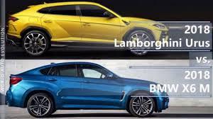 new 2018 bmw x6 price 2018 lamborghini urus vs 2018 bmw x6 m technical comparison
